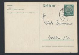 1de.Postkarte. Mail Ging 1940 In Peine über - Germany