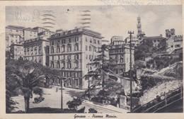 CARTOLINA - POSTCARD - GENOVA - PIAZZA MANIN - Genova