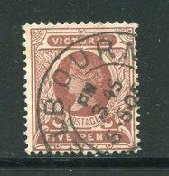 VICTORIA- Y&T N°134- Oblitéré - Used Stamps