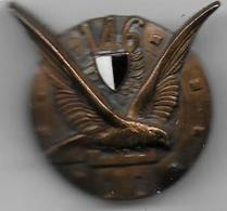 146e Régiment Infanterie - Insigne émaillé A.B. Paris 115 - Army