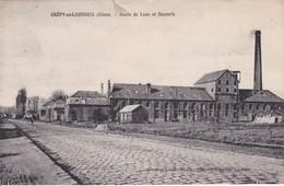 [02] Aisne > Crepy En Laonnois Route De Laon Usine Sucrerie - France