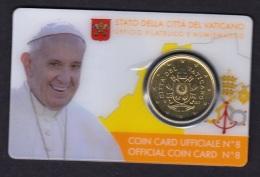 6.- VATICAN CITY 2017 COINCARD 2017 - Vaticano (Ciudad Del)