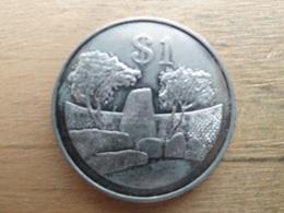 Zimbabwe  1  Dollar  1980  Km 6 - Zimbabwe