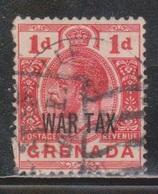 GRENADA Scott # MR2 Used - War Tax Overprint - Grenada (...-1974)