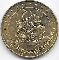 Jeton Touristique  Monnaie De Paris SEINE ET MARNE DISNEY MICKEY ET CHATEAU 2005H - 2005