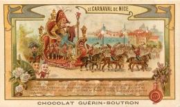 CHROMO GUERIN BOUTRON LE CARNAVAL DE NICE - Guérin-Boutron