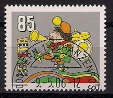 """2006 Schweiz Mi. 1969 FD- Used  40 Jahre Hörspielfigur """"Kasperli - Gebruikt"""
