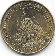 Jeton Touristique  Monnaie De Paris 75018 BASILIQUE SACRE COEUR 2006B - 2006