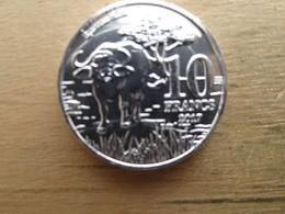 Katanga  10  Francs  2017  Km !!! Neuve - Katanga