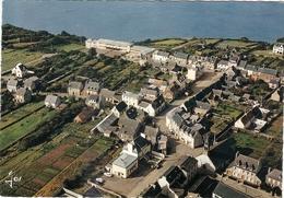 CP Lanveoc Vue Générale Du Bourg Le Groupe Scolaire Yves Ofret 29 Finistère - Autres Communes