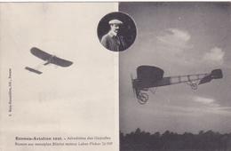 Cpa -35-rennes-aviation-aerodrome Des Gayeulles-aviateur Busson Sue Monoplan Bleriot Moteur Labor Picker-edi Rousseliere - Rennes