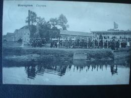 WAREGEM : Les Courses Et Les Tribunes Du Champ De Courses En 1908 - Waregem