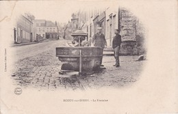 [02] Aisne > Précurseur Rozoy Sur Serre La Fontaine Précurseur Nuage - Francia