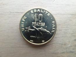 Djibouti  10  Francs  1999  Km 23  Neuve - Djibouti