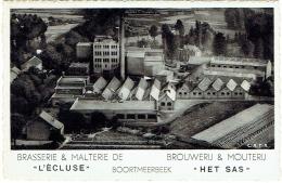 """Boortmeerbeek. Brasserie Et Malterie De """"L'Ecluse.   Brouwerij & Mouterij """"Het Sas"""" - Boortmeerbeek"""