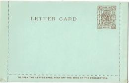 China. Shanghai Local Post. Letter Card. Non Circulée.  One Cent. - Brieven En Documenten