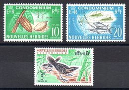NOUVELLES HEBRIDES - YT N° 273 à 275 - Neuf ** - MNH - Cote: 14,50 € - Légende Française