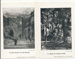 ANNECY - 2 CPA , Autographes - Oeuvres De Marie BIENNER - Cartes écrites Par L'Artiste En 1931 - Annecy
