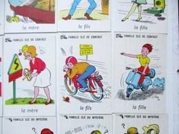 """JEU DE CARTES 7 SEPT FAMILLES """" CLES """"    SCOOTER - Jeux De Société"""