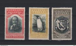1933 FALKLAND EILAND ZEGELS ONGEBRUIKT MET GOM MNH - Falkland
