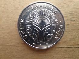 Djibouti  5  Francs  1991  Km 22  Neuve - Djibouti