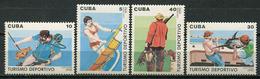 Cuba 1990 / Hunting & Fishing MNH Pesca Y Caza Angeln Und Jagen / Cu8509  C3 - Sellos