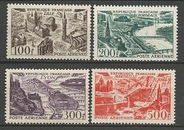 GRANDES VILLES N° 24 à 27  NEUF** LUXE GOM D'origine Sans Charnière / MNH - 1927-1959 Mint/hinged