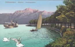 MONDSEE (OÖ) - Landungsplatz, Karte 1922, Gute Erhaltung - Mondsee