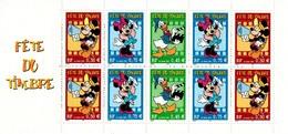 MWD-BK6-477 MINT PF/MNH ¤ FRANCE FRANKRIJK  2004 BOOKLET ¤ THE WORLD OF WALT DISNEY -- FRIENDS OF WALT DISNEY - Disney