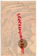 RARE CARTE GAUFREE MONNAIE OR - REPUBLIQUE FRANCAISE - Monnaies (représentations)