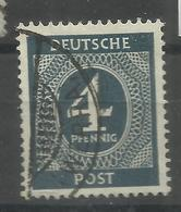 "Allierte Besetzungen Gemeinschaftsausgaben 914a"" 4 Pfg.-Briefmarke A.Satz Der 1.Kontrollratsausg.""gestempelt Mi.:6,00 - Gemeinschaftsausgaben"