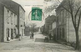 43 - ARVANT - ROUTE NATIONALE - CPA ANIMEE - Frankrijk