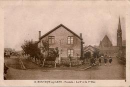 Cpsm 62 ROUVROY-sur-LENS  Nouméa : La 6è Et La 7è Rue , Animée , Rare - France