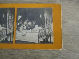 PHOTO STEREOSCOPIQUE BOUTIQUE CHINOISE EXPOSITION 1900 - Stereoscopic