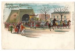 CPA Metz Gruss Vom Metzer Carneval 1903 - Metz