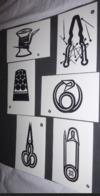Pochette De 6 Cartes Postales - La Boite à Ouvrage - Illustration Yves Yacoël (sur Papier Vélin De Hollande) - Yacoël
