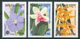 1990 Bhutan Orchidee Orchids Orchidèes Fiori Flowers Blumen Fleurs MNH** Fio175 - Bhutan