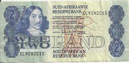 AFRIQUE DU SUD 2 RAND ND1981-90 VF P 118 Sign6 - Afrique Du Sud