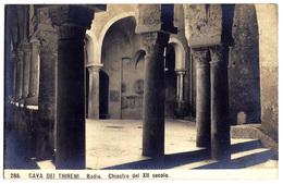 Cava Dei Tirreni (Salerno) - Badia - Chiostro Del XII Secolo. - Cava De' Tirreni