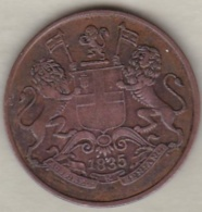 East India Company . 1/4 Anna 1835 B Bombay. William IV .KM# 446.1 - Indien