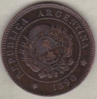 ARGENTINE / TUCUMAN . UN CENTAVO 1890. BRONZE - Argentinië
