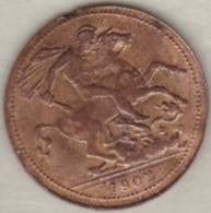 Jeton Token, Edward VII Coronation 1902. Saint Georges Terrassant Le Dragon. - Monarchia/ Nobiltà