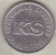 Danemark Jeton De Tramway De Copenhague, La Petite Sirène - Tokens & Medals