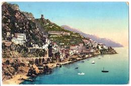 Amalfi (Salerno) - Panorama - 1912. - Salerno