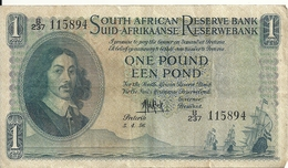 AFRIQUE DU SUD 1 RAND 1956 VF P 92 D - Afrique Du Sud