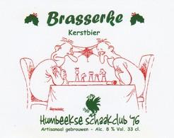 Brasserke Kerstbier Humbeekse Schaakclub - Bière