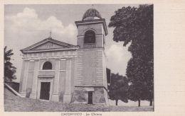1940circa-Caionvico Brescia La Chiesa, Cartolina Spedita - Brescia