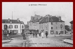 Guingamp *  Rue Notre Dame    ( Scan Recto Et Verso ) - Guingamp