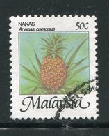 MALAISIE- Y&T N°344- Oblitéré - Obst & Früchte