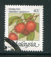 MALAISIE- Y&T N°343- Oblitéré - Obst & Früchte